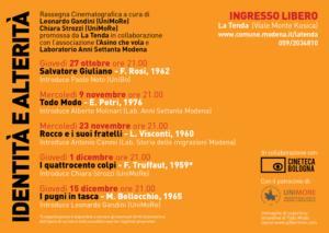 La Tenda, Identità e Alterità, Casa Mazzolini, Modena, Comune di Modena