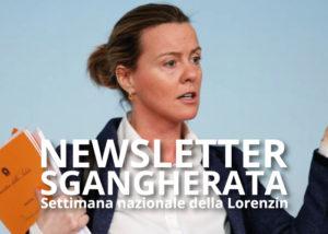 Lorenzin, Newsletter Sgangherata, Casa Mazzolini, Modena, Bologna, Reggio Emilia